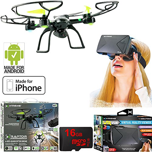 Xtreme Ready-To-Fly 2 4Ghz 6 Axis Gyro Aerial Quadcopter