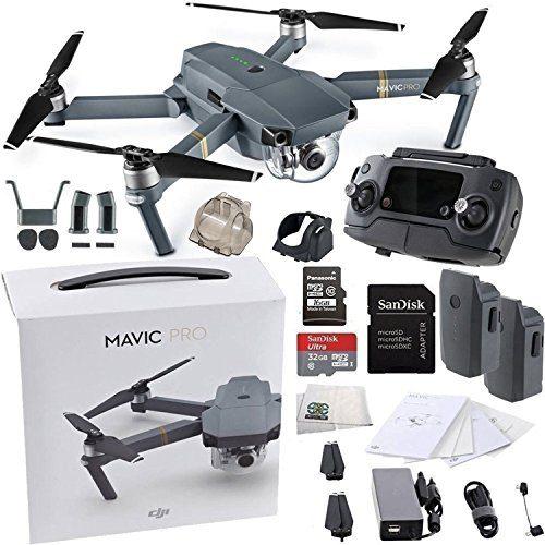 Dji Mavic Pro Collapsible Quadcopter Drone Essentials