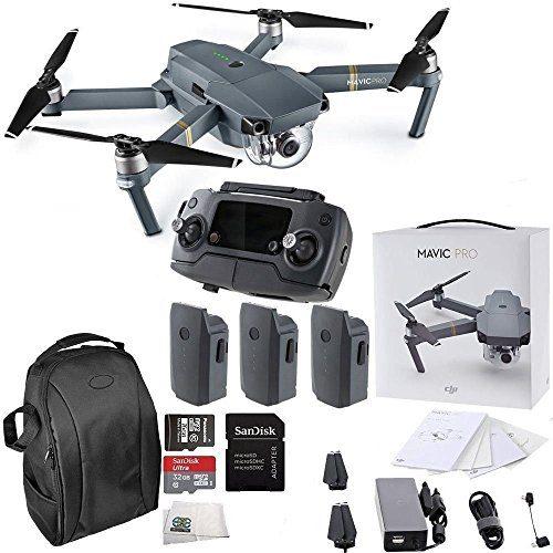 Dji Mavic Pro Collapsible Quadcopter Drone Ultimate