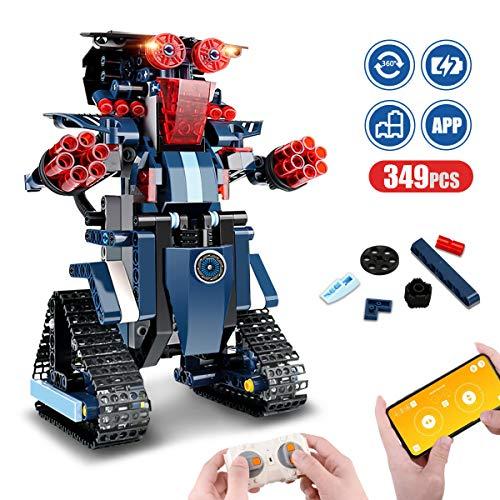 Aokesi Remote Control Robot Building Blocks Educational ...